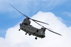 Чинук HC RAF Боинга военно-воздушных сил Великобритании вертолет ZH777 двойного engined тяжелого подъема 2 воинский Стоковое Изображение RF