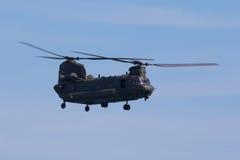 Чинук RAF на Уэльсе национальном Airshow, Суонси Стоковые Изображения