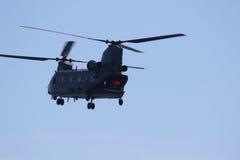 Чинук RAF на Уэльсе национальном Airshow, Суонси Стоковое фото RF