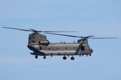 Чинук RAF на Уэльсе национальном Airshow, Суонси Стоковое Изображение