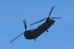 Чинук RAF на Уэльсе национальном Airshow, Суонси Стоковое Фото