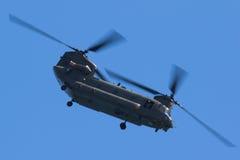 Чинук RAF на Уэльсе национальном Airshow, Суонси Стоковая Фотография