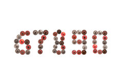 чисел стиля steampunk 6 7 8 9 0 cogwheels шестерней года сбора винограда механически 6 7 8 9 нул Ржавый железный красный цвет Стоковые Изображения