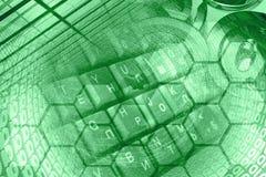 Числа и клавиатура Стоковое Фото