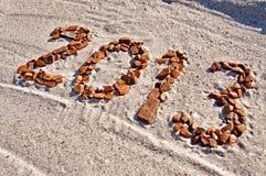 Числа - 2013 Стоковые Изображения