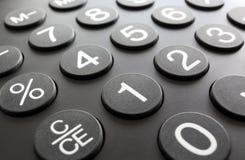 Численная кнопочная панель, конец-вверх Стоковые Фото