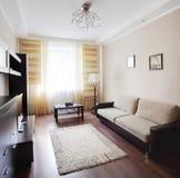 Чистая комната в европейском стиле стоковые изображения rf