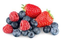 Чистая серия еды: Макрос VII ягоды Стоковые Фото
