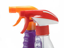 чистка бутылки Стоковое фото RF