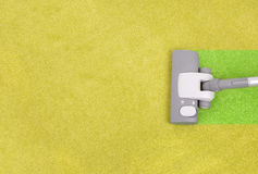 Чистка ковра Стоковое фото RF