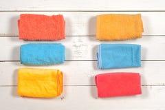 чистка Комплект wipes, губок, ведер для clea Стоковые Фото