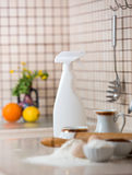 Чистка кухни Стоковые Изображения