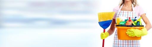Чистка дома Стоковая Фотография RF