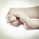 Чистка руки Стоковое Изображение RF