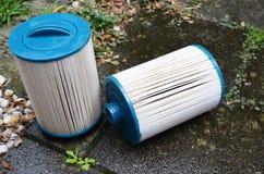 Чистка фильтра джакузи джакузи спа стоковая фотография