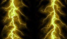 Чисто предпосылка энергии и электричества бесплатная иллюстрация