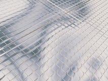 чисто серебряный космос Стоковое фото RF