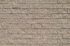 Чисто стена от каменных блоков Предпосылка, серия текстуры Стоковое фото RF