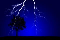 Чисто энергия и электричество символизируя силу Стоковые Изображения RF