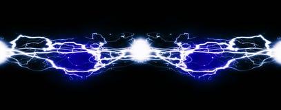 Чисто энергия и электричество символизируя силу Стоковое Фото