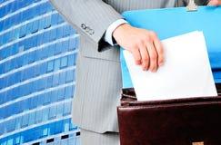 Чистый бланк контракта Стоковое Изображение