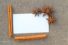 Чистый лист бумаги на увольнении Стоковая Фотография