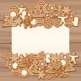 Чистый лист для приветствия ` s рождества и Нового Года стоковое фото