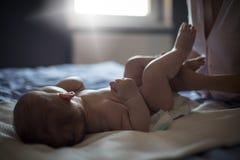 Чистый младенец стоковое фото