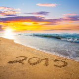 Числа Нового Года 2015 стоковые фото