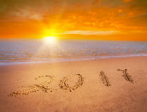 Числа Нового Года 2017 Стоковое Изображение RF