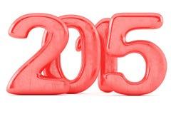 Числа 2015 Новых Годов Стоковое Фото