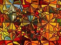 Численное цветное стекло Стоковая Фотография