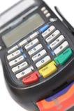 читатель карточки изолированный кредитом Стоковые Фотографии RF