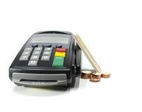 Читатель кредитной карточки Стоковое фото RF