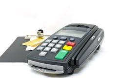 Читатель кредитной карточки Стоковая Фотография RF