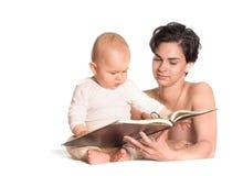 читатель самый молодой Стоковая Фотография RF