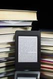 читатель ebook Стоковое Изображение