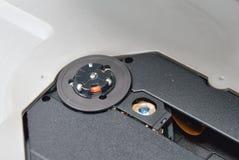 Читатель и объектив компакт-диска Стоковые Изображения RF