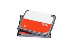 Читателя дуо госпожи md mmc память микро- sd m2 sd карточки Cf multi для кулачка Стоковая Фотография