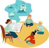 Читать книгу к детям бесплатная иллюстрация