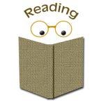 читать книг Стоковое Изображение RF