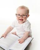 читать стекел младенца Стоковые Фотографии RF