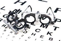 читать eyeglasses Стоковое Изображение RF