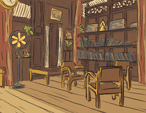 читальный зал Стоковые Фотографии RF
