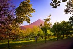 чилийский ландшафт Стоковые Изображения