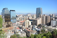 Чили Чили de santiago стоковое изображение rf