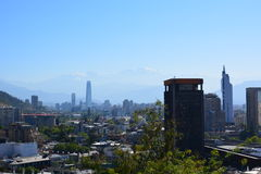 Чили Чили de santiago стоковое изображение