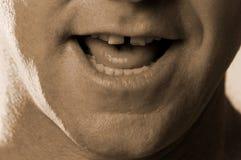 чокнутая усмешка Стоковые Изображения RF