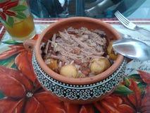 чолумбийская еда Стоковое фото RF