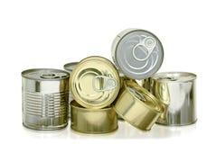 Чонсервные банкы еды Стоковая Фотография RF